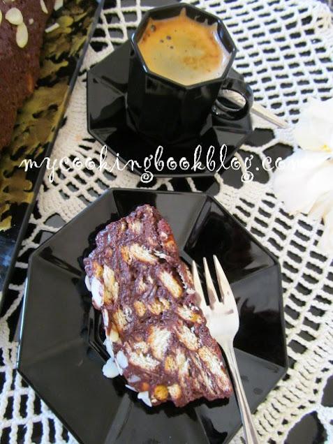 Дукиса (шоколадово-бисквитена торта) с яйца