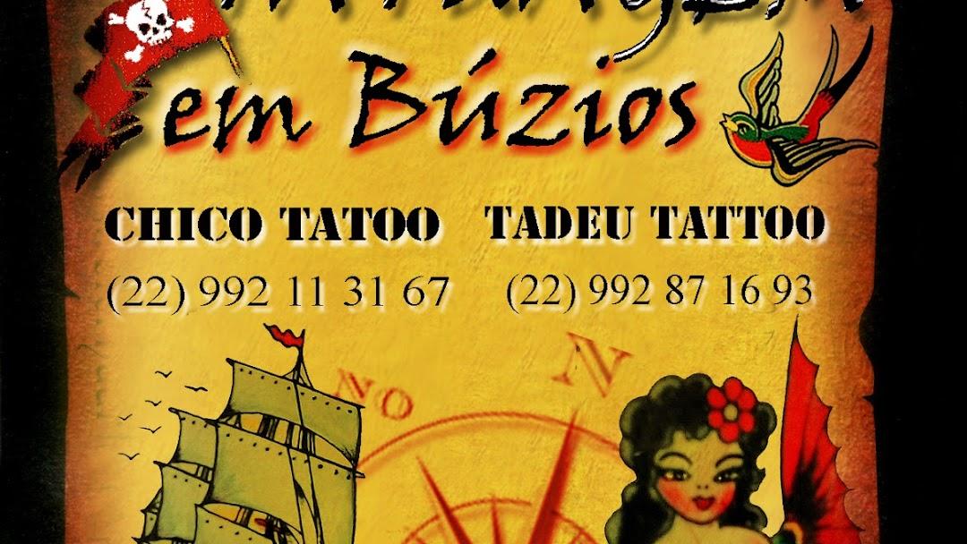 Chico Tatoo de Búzios - Tattoo And Piercing Shop em Centro