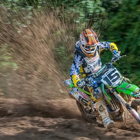 Mud Run by Lynn Wiezycki - Sports & Fitness Other Sports ( motocross, sports, motorcycle )
