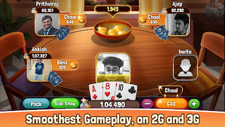 Teen Patti Home 1.1 screenshot 1421840