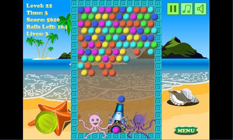 Скриншот Веселые пузыри
