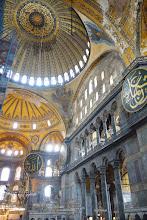 Photo: Hagia Sophia looking up