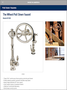 Waterstone Faucets Catalog- screenshot thumbnail