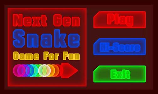 Next Gen Snake screenshot 0