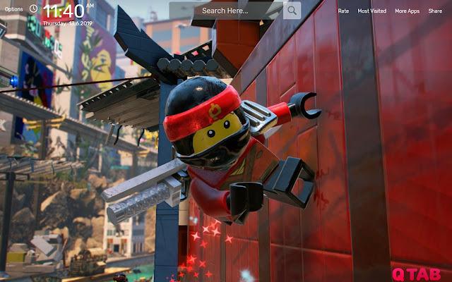Lego Ninjago Wallpapers New Tab