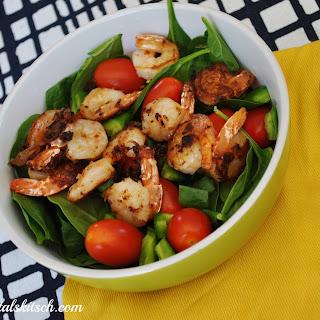 Peppery Shrimp Salad