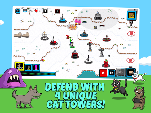 Cats & Cosplay: Epic Tower Defense Fighting Game  image 8