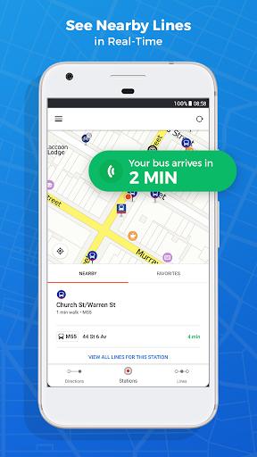 Moovit: Bus & Train Live Info  screenshots 3
