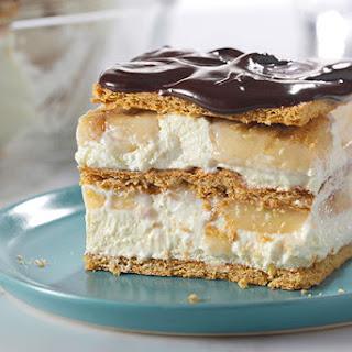 "No-Bake Banana Eclair ""Cake"" Recipe"