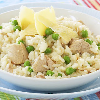 Easy Tuna and Pea Risotto