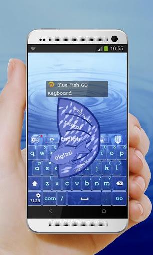 蓝鱼 GO Keyboard 玩個人化App免費 玩APPs