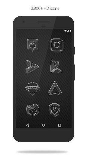 Screenshot for Glass Pack - Transparent Theme (Pro Version) in United States Play Store
