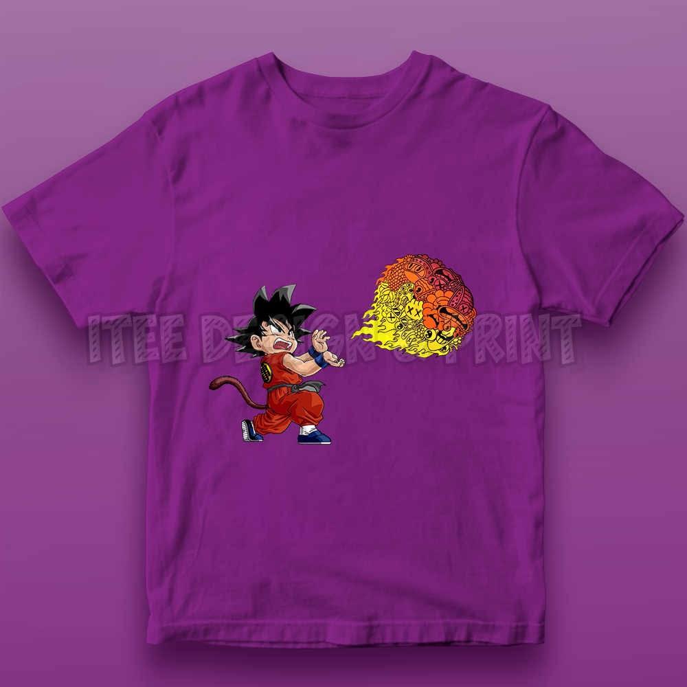 Goku Fireball Kamehameha Doodle 16