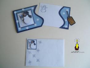 Photo: cARTe à tirer et son enveloppe assortie