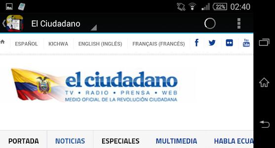 Noticias de Ecuador screenshot 2