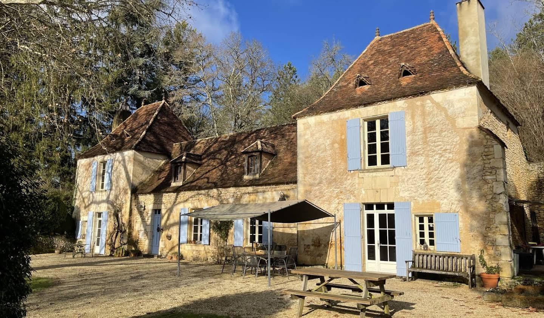 Maison avec piscine Sainte-Foy-de-Longas