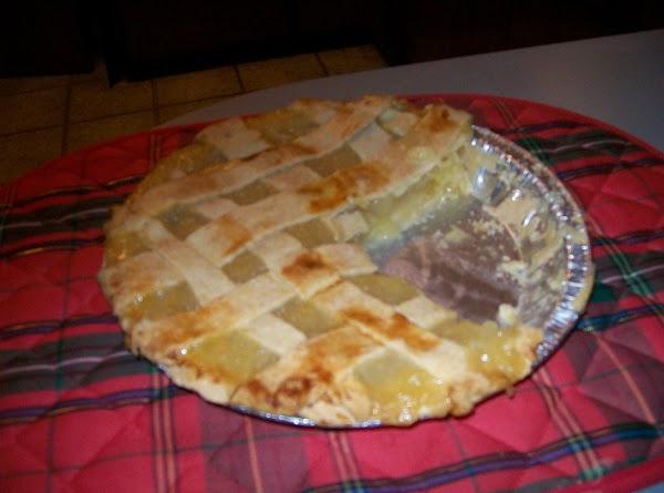 Lattice Pineapple Pie Recipe