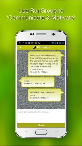 android RunGroup Screenshot 4