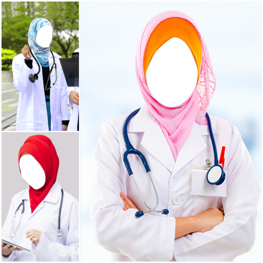 Hijab Doctor Suit Photo Editor