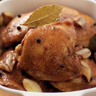 Adobo Chicken Thighs Recipes.