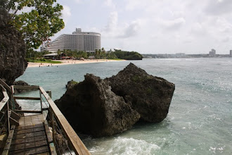 Photo: One of the hotels in tumon
