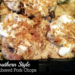 Southern Style Smothered Pork Chops (recipe source).