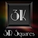 3K SR Squares - Icon Pack