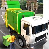 Real Garbage Truck Driving Simulator Game