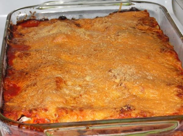 Italian Sausage And Cheese Lasagna Rolls Recipe