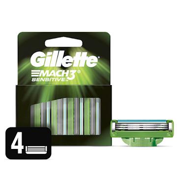 Repuestos Para Afeitar Gillette Mach3 Sensitive 4 Und
