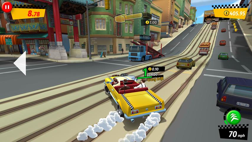 Crazy Taxi™ City Rush screenshot #7