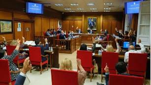 Pleno de la Diputación de Almería.