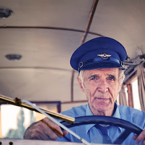 Your driver by Boris Bajcetic - People Portraits of Men