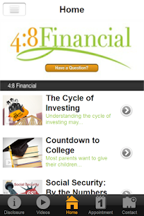 4:8 Financial- screenshot thumbnail