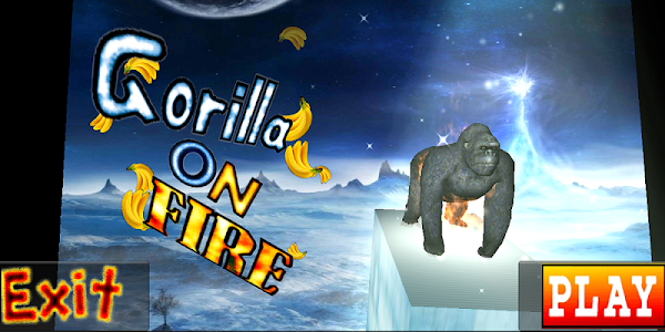 Gorilla On Fire!! screenshot 0