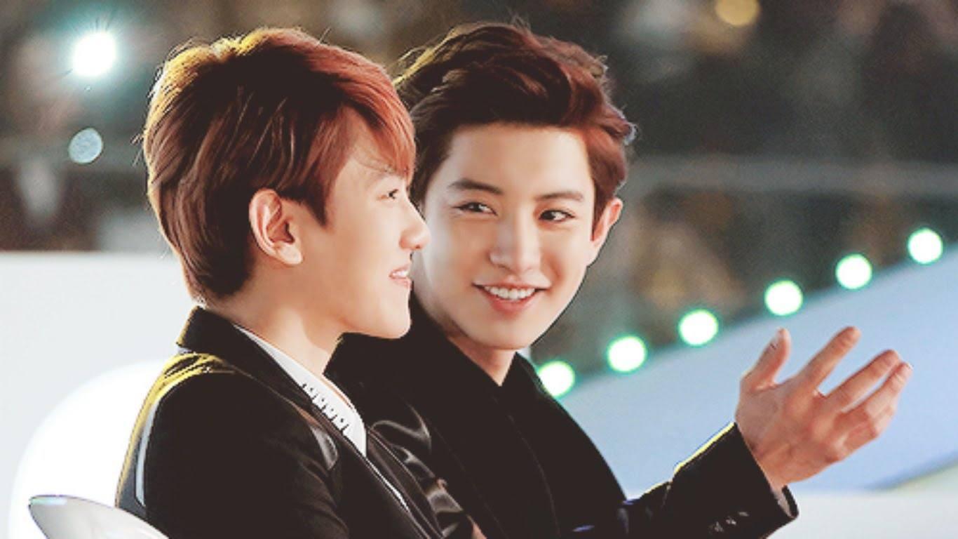 Exo Chanyeol and Baekhyun