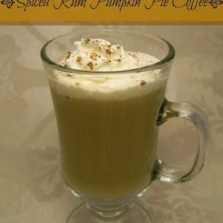 Spiced Rum Pumpkin Pie Coffee.