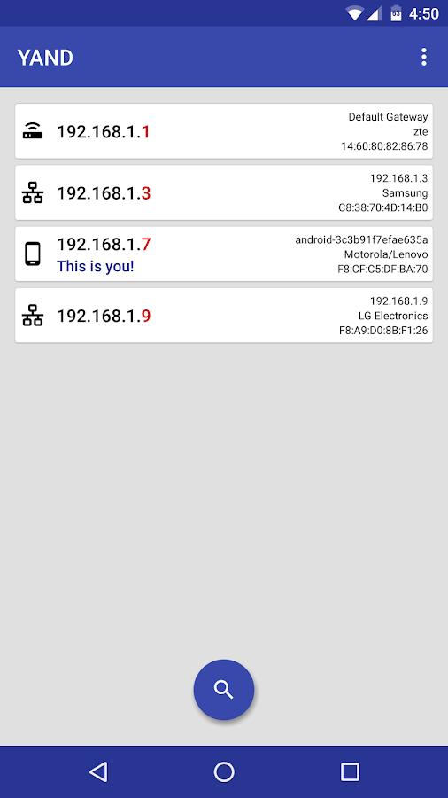 YAND - Network Tools (Unreleased) - στιγμιότυπο οθόνης
