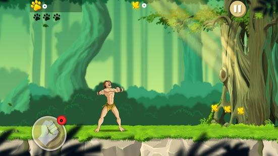 Tarzan Rescue Run screenshot