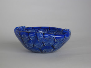 Photo: Ermanno Toso Blue Murrine Bowl
