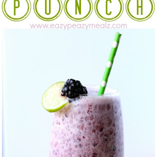 Blackberry Lime Punch.