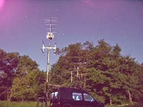 Photo: K8GP / Rover - FN10CA (looking NW) under moonlight