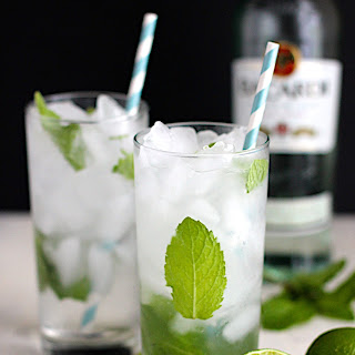 Coconut Mojitos.