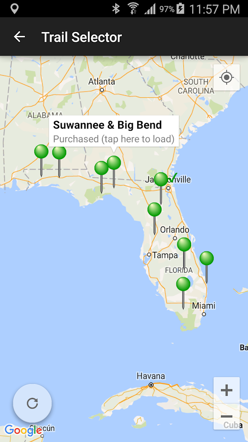 The Florida Trail Guide- screenshot