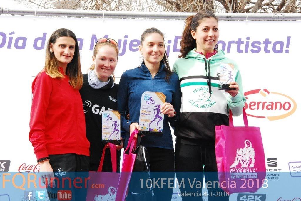 Fotos Carrera 10KFEM Valencia 2018