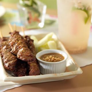 Malaysian Pork Satay Recipe