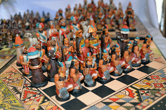 Photo: Chess set for sale.