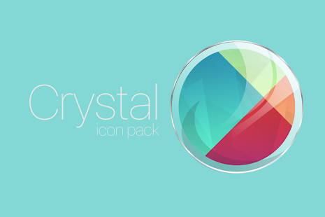 Crystal Glass - icon pack