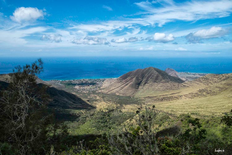 The remote Palehua Trail, on the west side of Oahu, is sacred to Hawaiians.