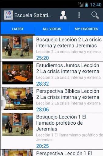 Escuela Sabatica Online Videos